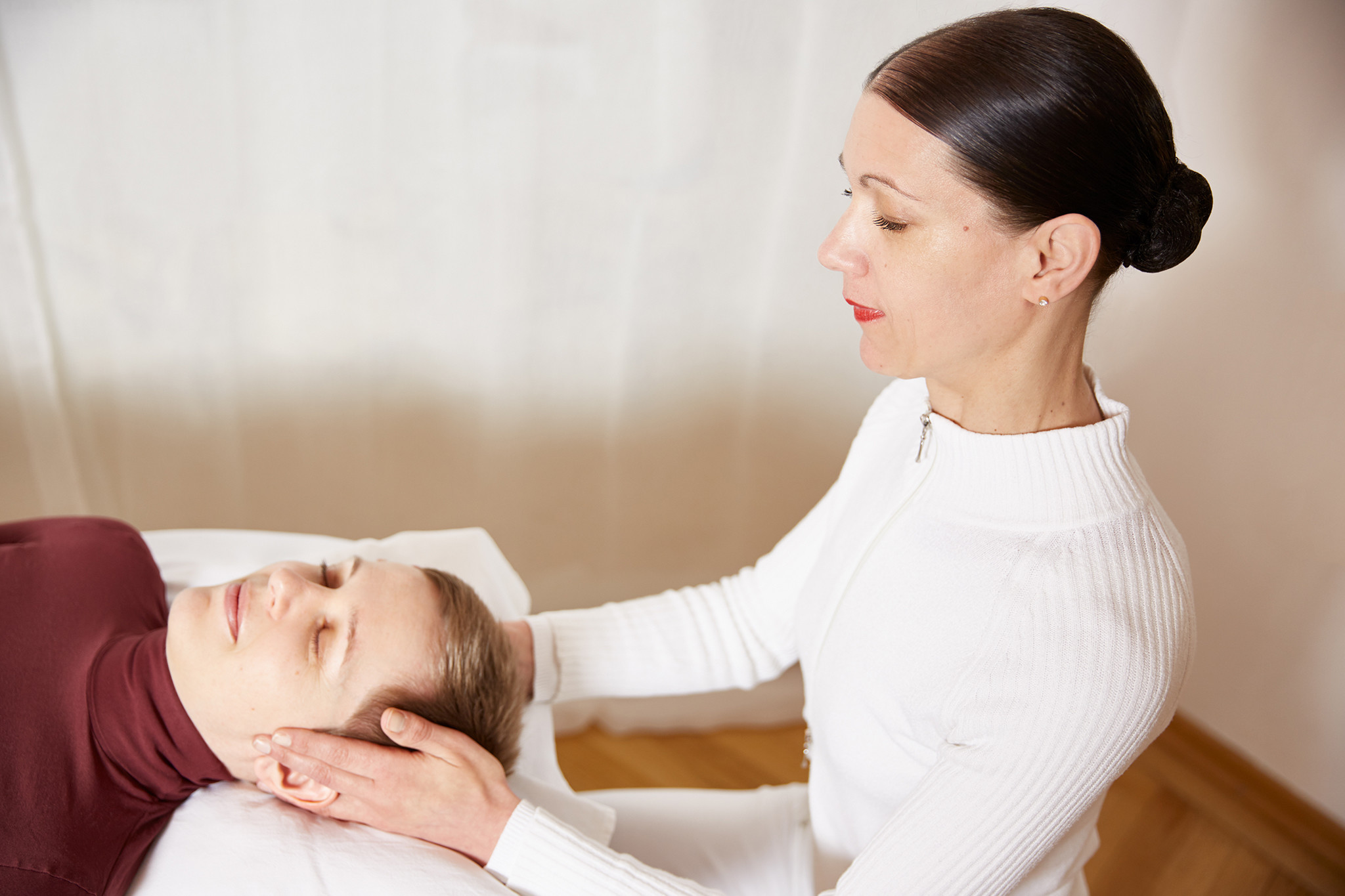 Chraniosacrale Therapie | Cornelia Becker. Praxis für Physiotherapie, Fotocredit: Julia Spicker